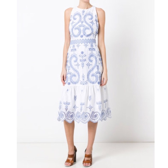8ce8ded8 Tory Burch Dresses | New Mariana Dress Embroidered Floral | Poshmark